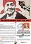 Tarxeta entrega do premio Roberto Vidal Bolaño